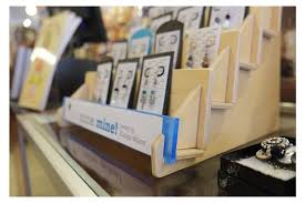 Wooden Greeting Card Display Stand Best Wooden Countertop Displays From Clear Solutions