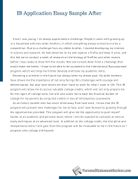 Essay Examples Application High School Argumentative