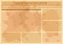 Newspaper Template Olden Times Old Blank Newspaper Template Allthingsproperty Info