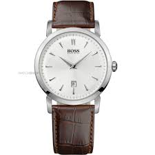 "men s hugo boss slim ultra round watch 1512636 watch shop comâ""¢ mens hugo boss slim ultra round watch 1512636"