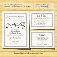 Rsvp Wording On A Wedding Invitation Cards Vistaprint