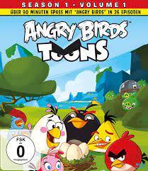 Angry Birds Toons - Season 1.1 [Blu-ray]: Amazon.de: Juusonen, Kari: DVD &  Blu-ray