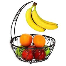 bowls fruit bowl banana hanger basket with tree bronze collection a wooden uk