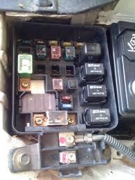 main relay does not click not bad relay honda tech under hood fuse box