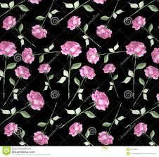watercolor rose flower art seamless wallpaper background