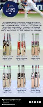 Check Out Our Fantastic Range Of Harrow Cricket Bats Online
