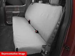 weathertech seat protector for dodge ram 1500 quad cab 2009 2016 grey