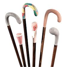 Decorated Walking Canes Decorative Wood Canes with Stingray leather Men's Accessories 54