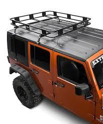 roof mounted basket rack jeep wrangler 2007 2018 2 or 4 door