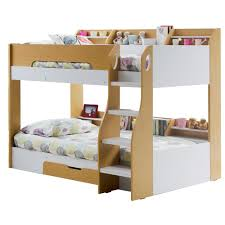 Bunk Bed Kids Flick Bunk Bed In Maple With Storage Cuckooland Kids Beds