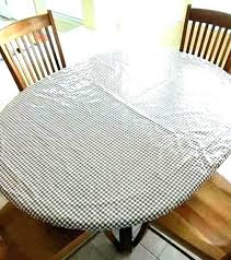 stay put elastic tablecloth 60 round elastic table covers plastic elastic table covers round vinyl tablecloth