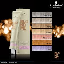 Schwarzkopf Professional Blond Me Blonde Toning Shades In