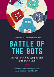 Blue Maroon Robots Science Fair Poster Templates By Canva
