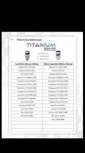 47 Circumstantial Mopar Oil Filter Cross Reference Chart