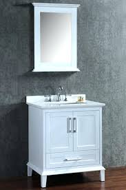 contemporary 36 single bathroom vanity set with mirror by bosconi