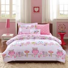 kids bed. Mi Zone Kids Nocturnal Nellie Pink Complete Bed And Sheet Set