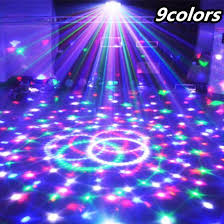 party lighting ideas. 9 colors 27w crystal magic ball led stage lamp 21modes disco laser light party lights sound lighting ideas