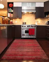 Unique Red Kitchen Rugs Design Ideas Perfect Stunning Interior Intended Innovation
