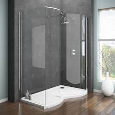 bathroom ideas. Apollo Curved Walk-In Shower Enclosure | 8 Contemporary Bathroom Ideas N