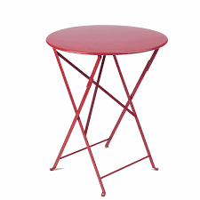 stunning small round folding table with fermob folding tables bistro at american country american country