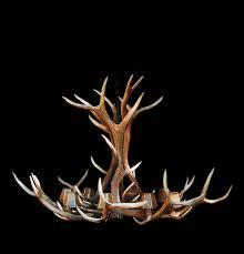 elk horn chandelier for