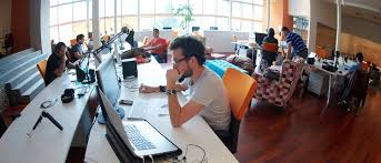 designing an office. Designing A Corporate Space Has Often Been Thought Of As Simple Affair:  Buy Bunch Grey Desks, The Cheapest Office Chairs, And Few Computers, Designing An