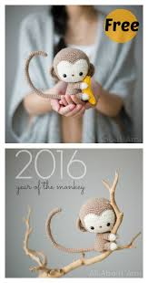 Cute Crochet Patterns Fascinating Free Monkey Amigurumi Crochet Patterns