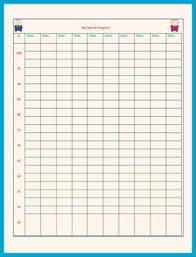Speech Therapy Articulation Progress Chart For Elementary Students