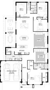 floorplan preview 4 bedroom lawrence house bedroom house plans
