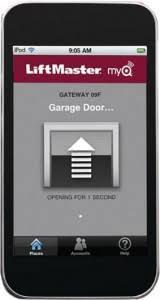 garage door appMonitor and Control Your Garage Door from Your Smartphone  From
