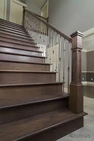 dark basement stairs. Contemporary Basement Basements  Dark Stained Staircase  Inside Basement Stairs I