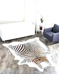 faux animal rug cow skin cowhide hides rugs print area zebra uk