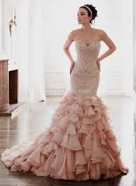 blush mermaid wedding dress naf dresses