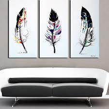 decor canvas painting set of three wall art und oversized wall set of three framed wall
