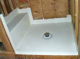 custom shower pans kits foam shower pans custom shower pan kit large size of foam shower
