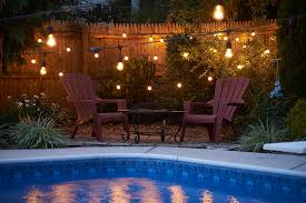 commercial string light strands for heavy duty patio use