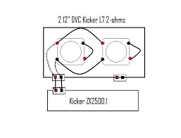 kicker l ohm wiring diagram wiring diagram kicker l7 wiring diagram 1 ohm auto schematic