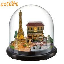 homemade doll furniture. DIY Doll House Wooden Houses Miniature Dollhouse Furniture Kit Toys For Children Gift Romantic Paris Homemade