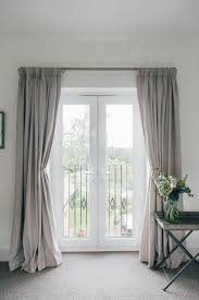 A Guide To Hanging Curtains {With Laura Ashley}. Grey Curtains BedroomPatio  Door ...
