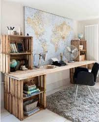 19 diy desk ideas to inspire a home office makeover the apple crate desk