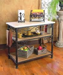 wood and wrought iron furniture. Wrought Iron Siena Rectangle Kitchen Island Wood And Wrought Iron Furniture