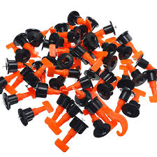 details about 50x flat ceramic floor wall construction tools reusable tile leveling system kit