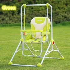 baby swing garden multi purpose baby swing chair dining chair outdoor garden baby toys red blue baby swing