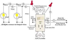 combination switch wiring diagram install light switch outlet how to wire a light switch off an outlet at Light Switch Outlet Wiring Diagram