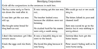Identifying Conjunctions KS2 SPAG Test Practice   Classroom Secrets