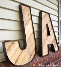 best 25 rustic letters ideas on rope crafts wood with large wooden letters