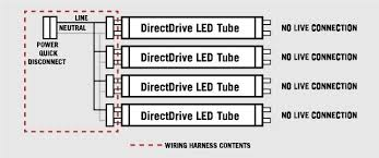 t8 led wiring on wiring diagram 2 lamp wiring harness for led t8 tubes tall socket by keystone substitube ips led t8 wiring t8 led wiring