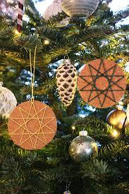 Sbastelkistle Weihnachtliche Anhänger Aus Kork Mit