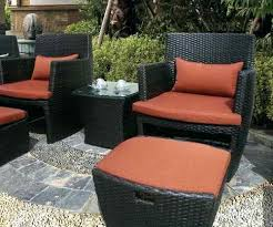 outdoor chair with ottoman. Outdoor Furniture Ottoman Patio With Hidden Chair