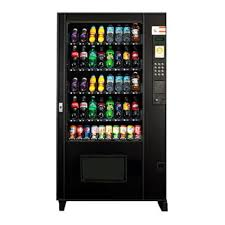 Cold Drinks Vending Machine Fascinating Used AMS BEV48 Glass Front Cold Drink Vending Machine